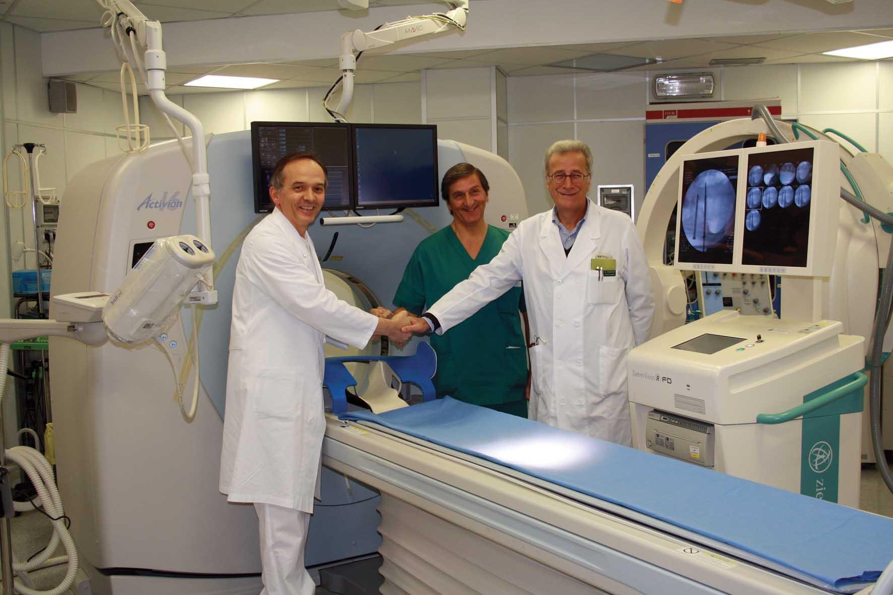 Ospedale camposampiero PD foto primari fluoro Ernesto Bissoli Ernesto Pizzirani Sabino Fiume 1