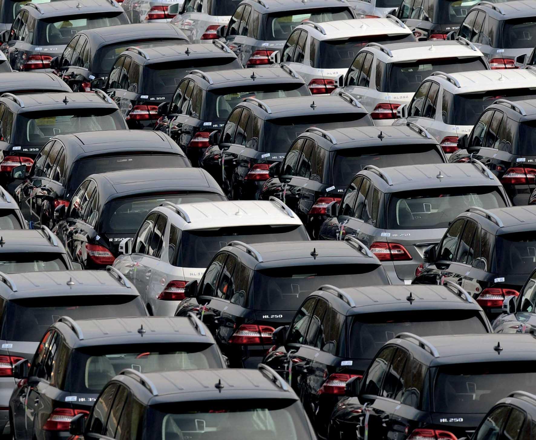 mercato dell'auto autoparco mercedes ml-r 1