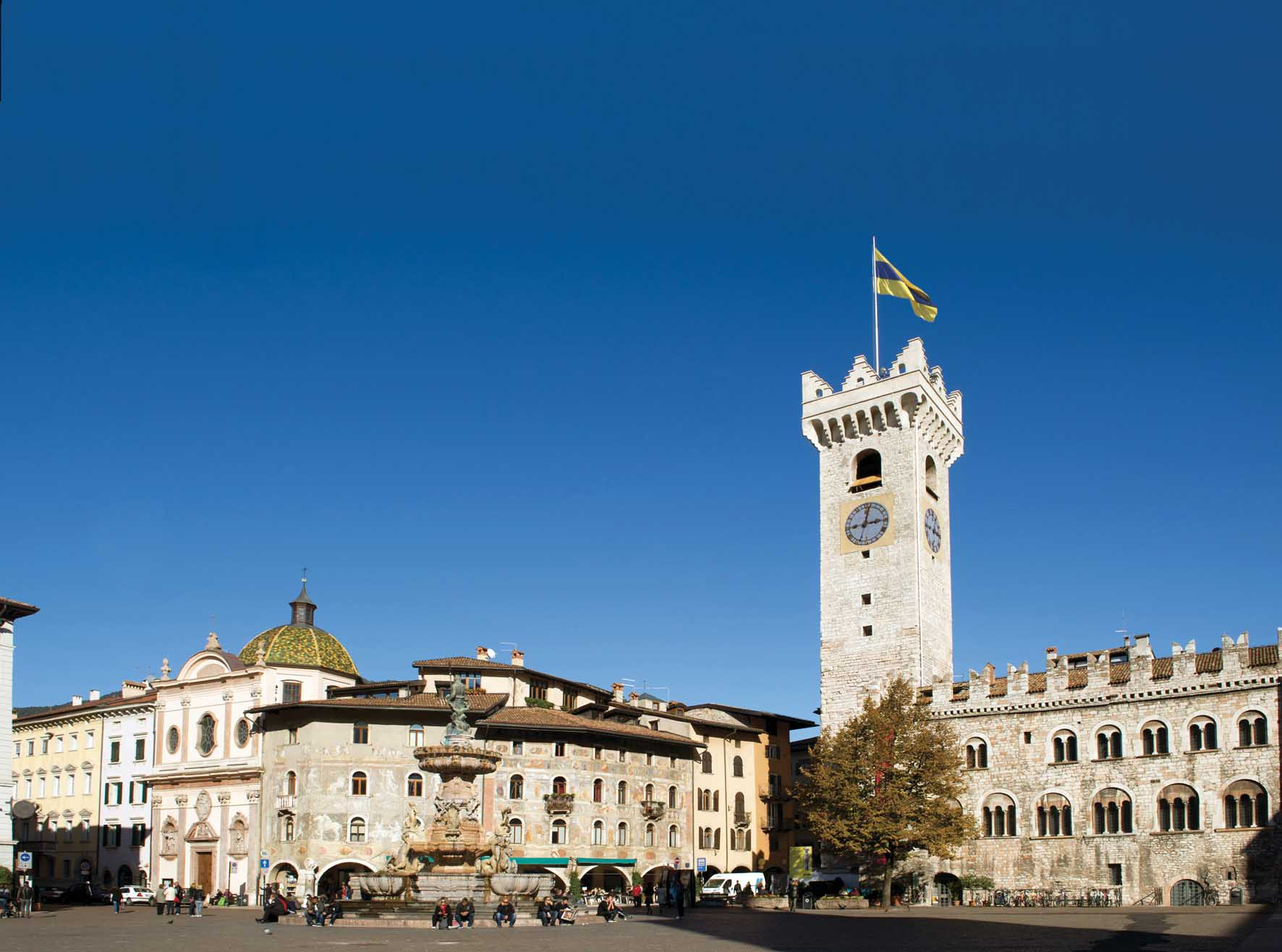 Smart City Index trento-piazza-duomo-torre-civica-ilnordestquotidiano