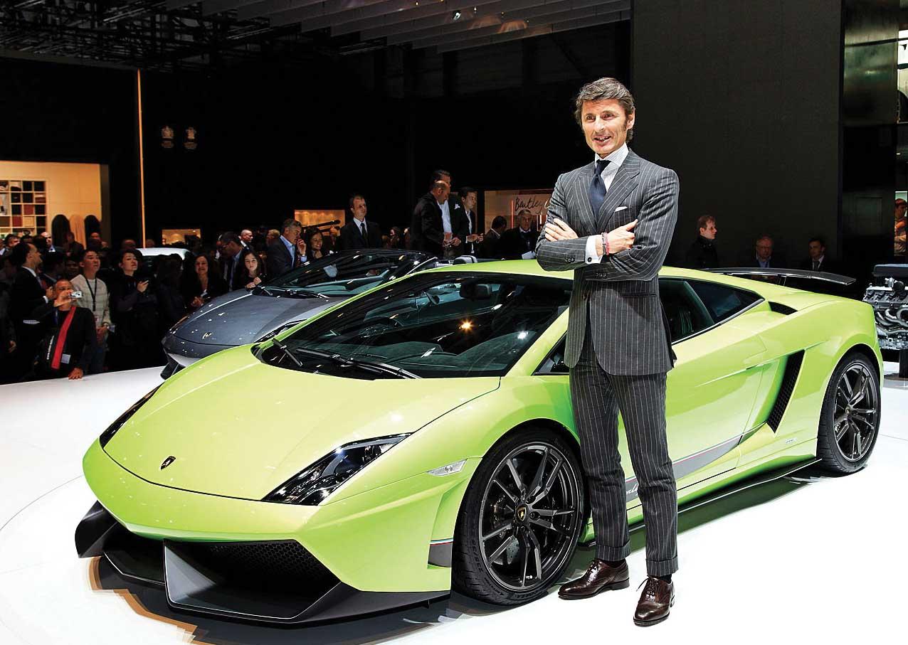 Lamborghini lp570 stephan Winkelmann