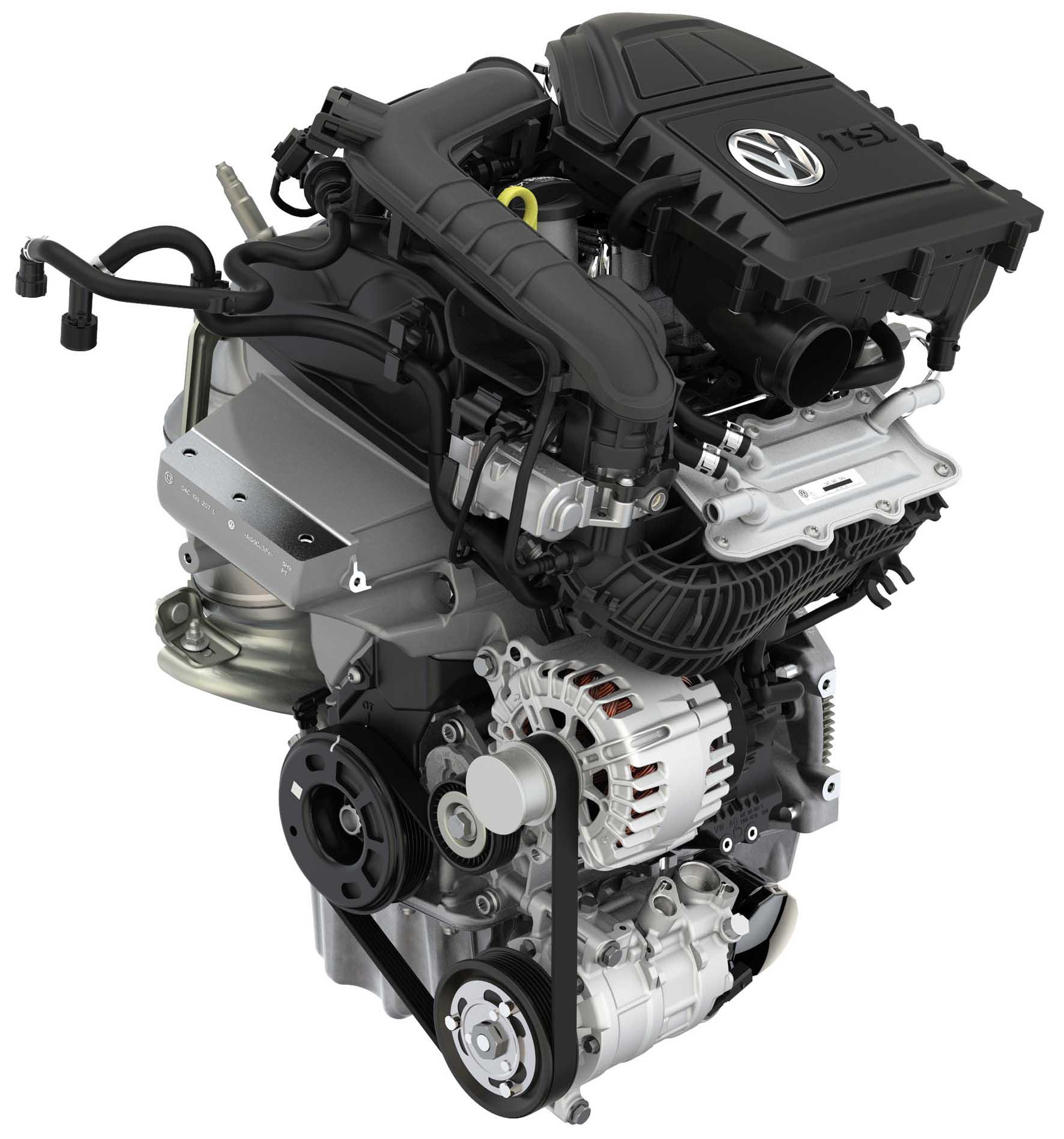 Vw Motore 1.0 TSI tre cilindri turbo 115 Cv