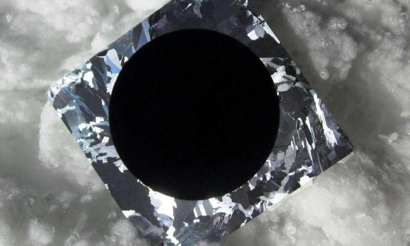 cella fv silicio nero
