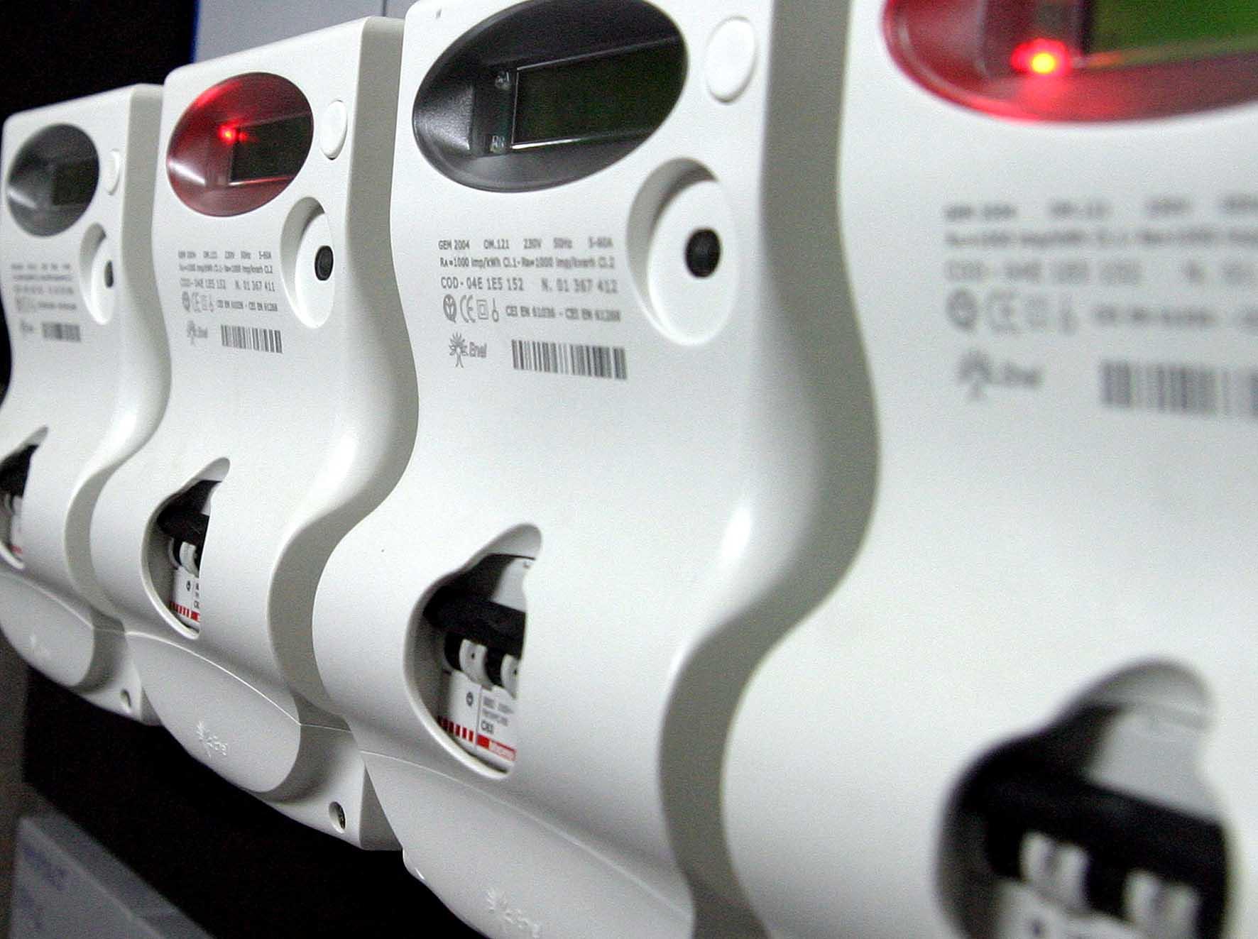 contatori elettrici elettronici