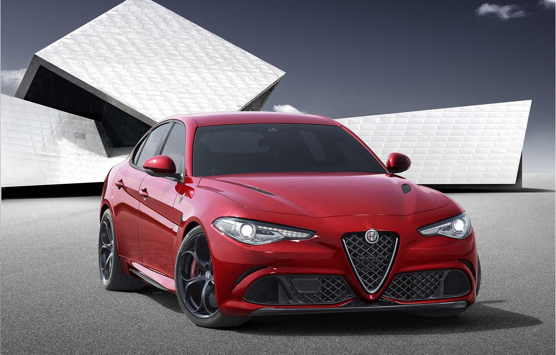 Alfa Romeo Giulia Quadrifoglio Verde frontlat