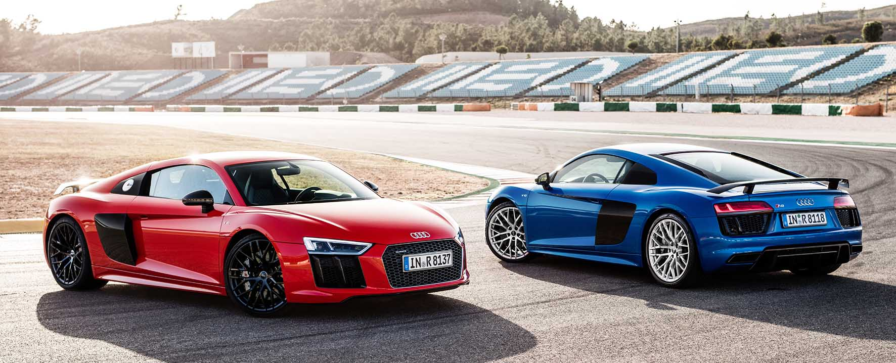 Audi new R8 2015 front rear