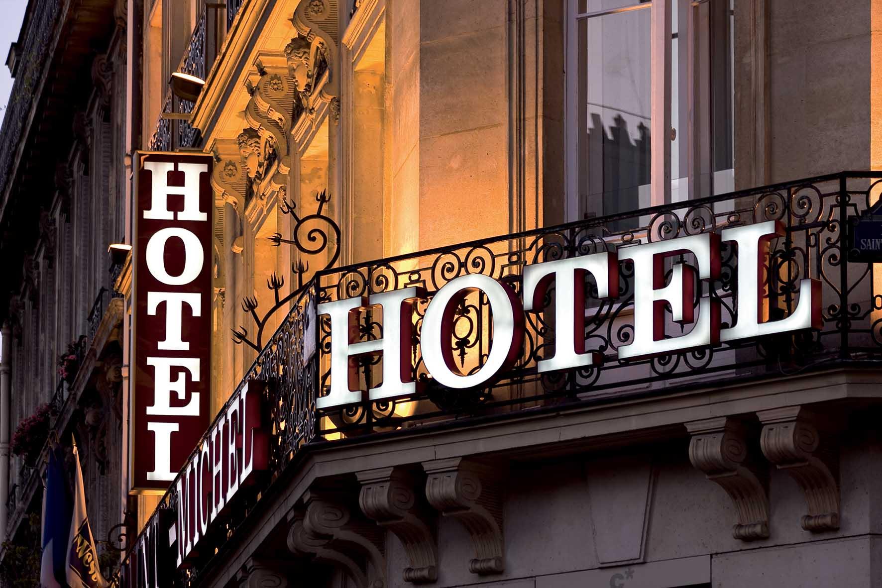 asat albergo hotel insegna esterna FbySh