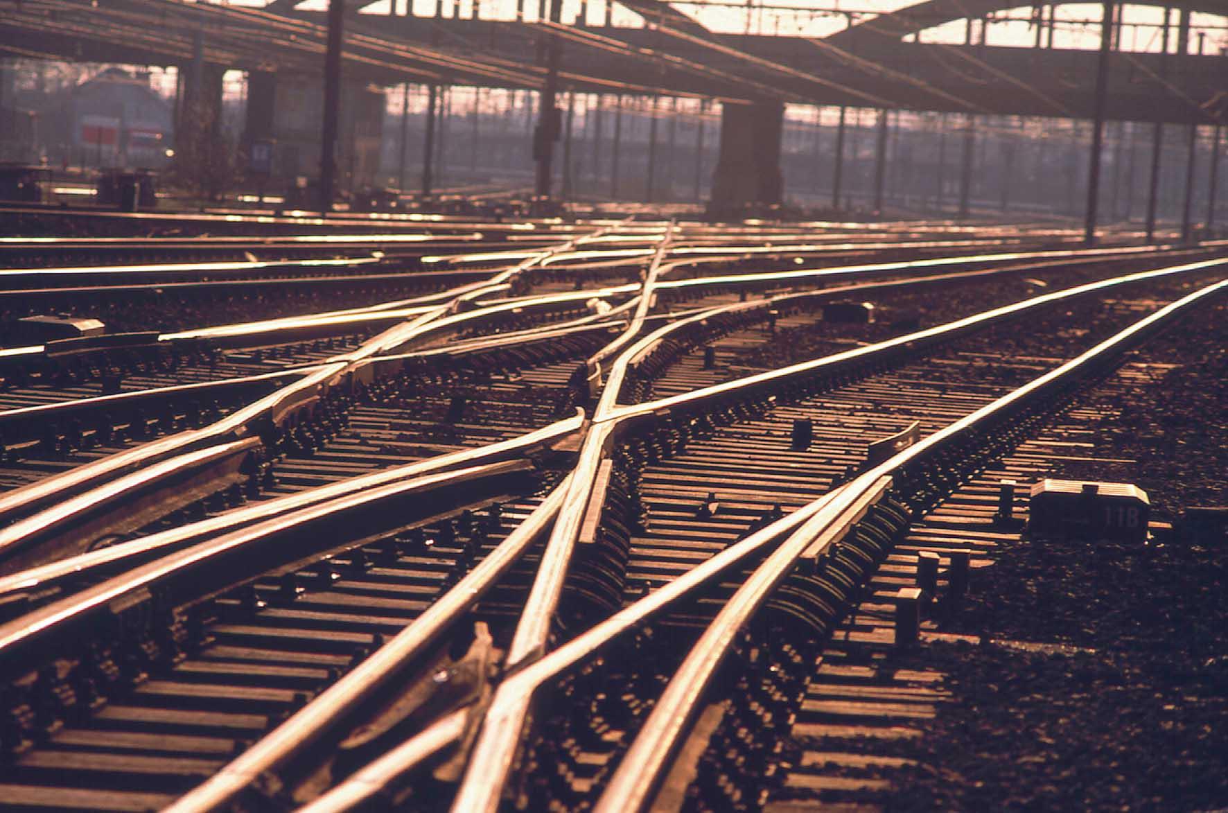europa binari ferrovia scambi