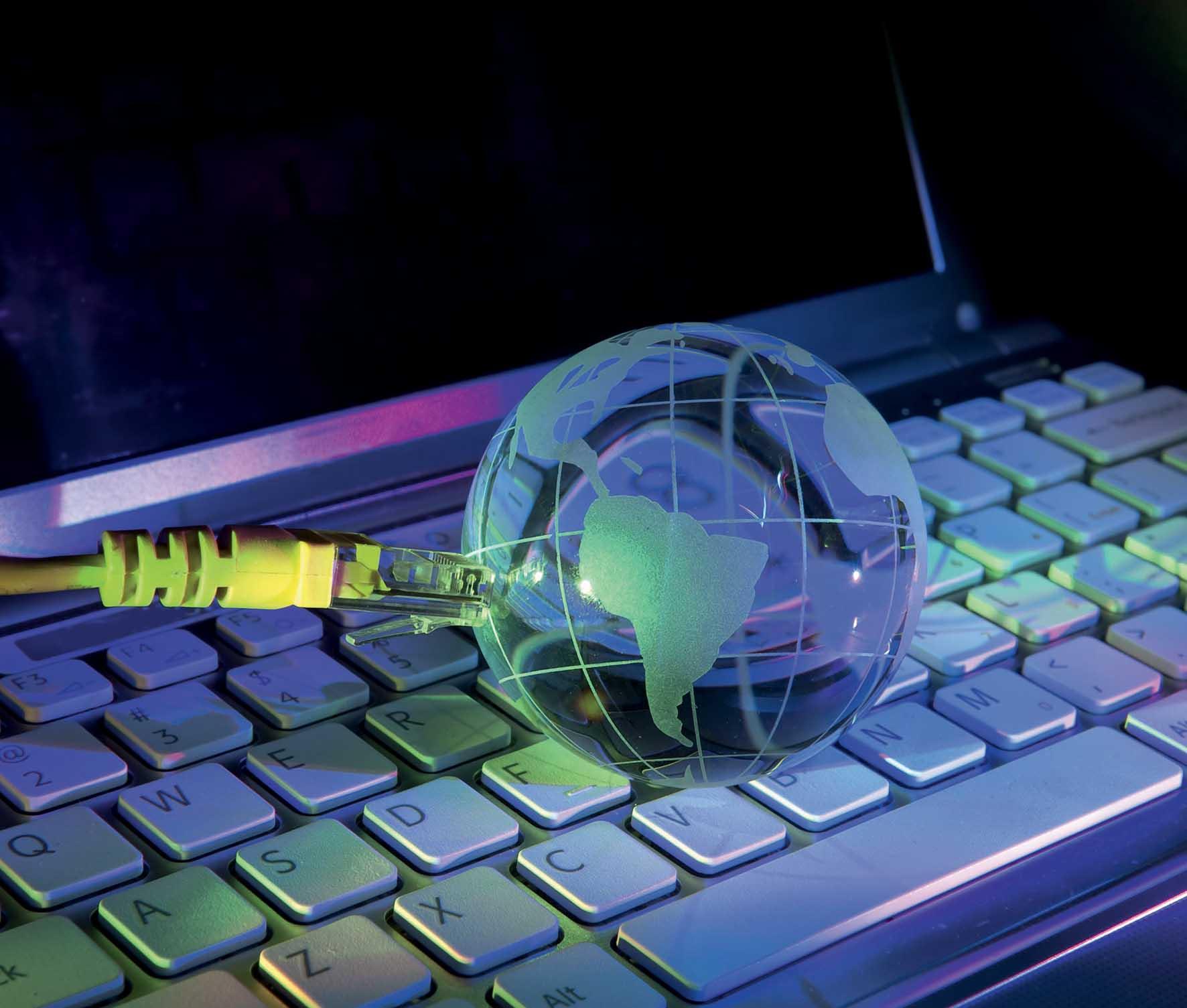 nPerf rete fibra ottica connessione PC FbySh