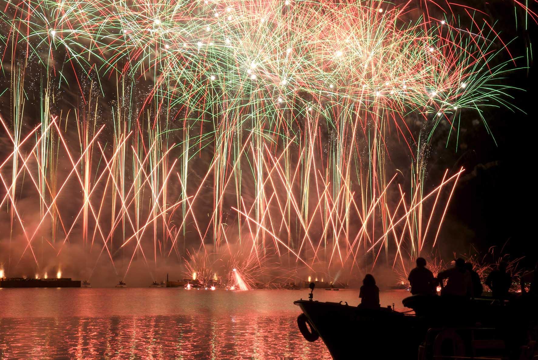 venezia festa del redentore fuochi artificio
