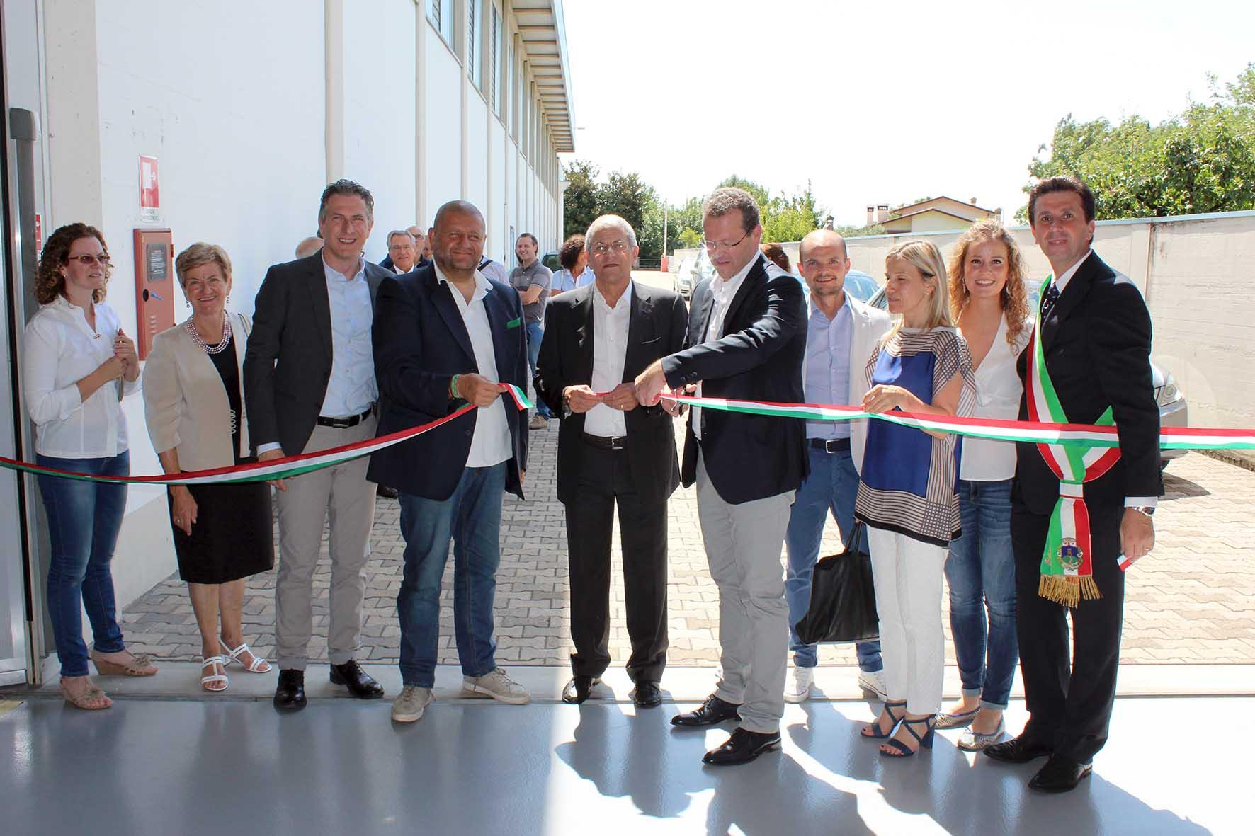 CMA Mussolente inaugurazione centro formazione assessori LANZARIN E MARCATO con famiglia Saretta