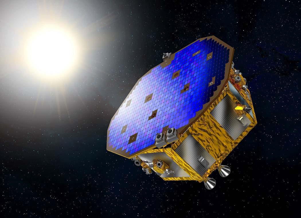 ESA LISA Pathfinder rendering satellite
