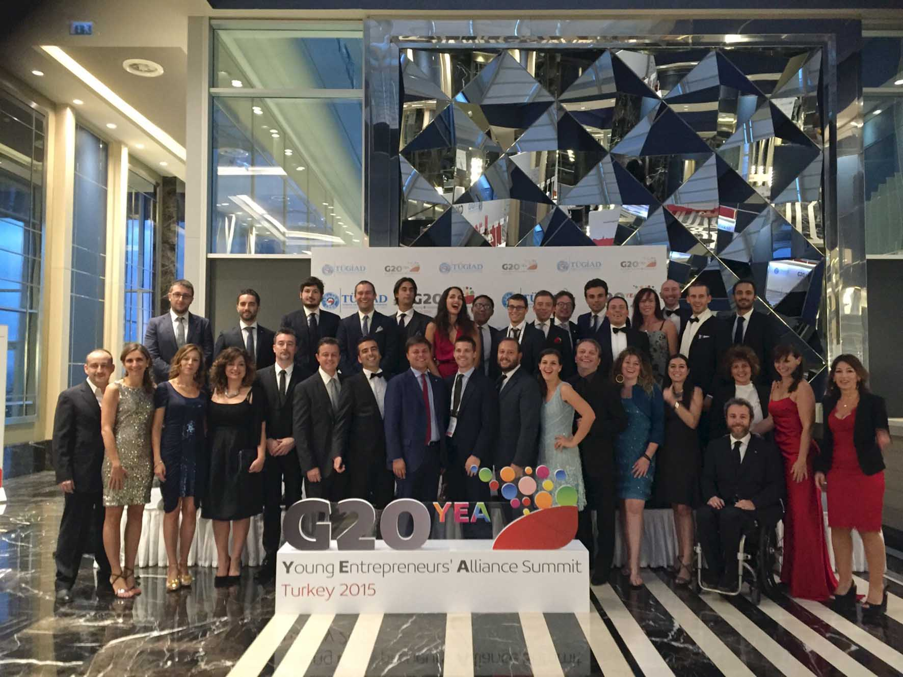 G20YEA Instanbul 2015 delegazione dei Giovani Imprenditori di Confindustria