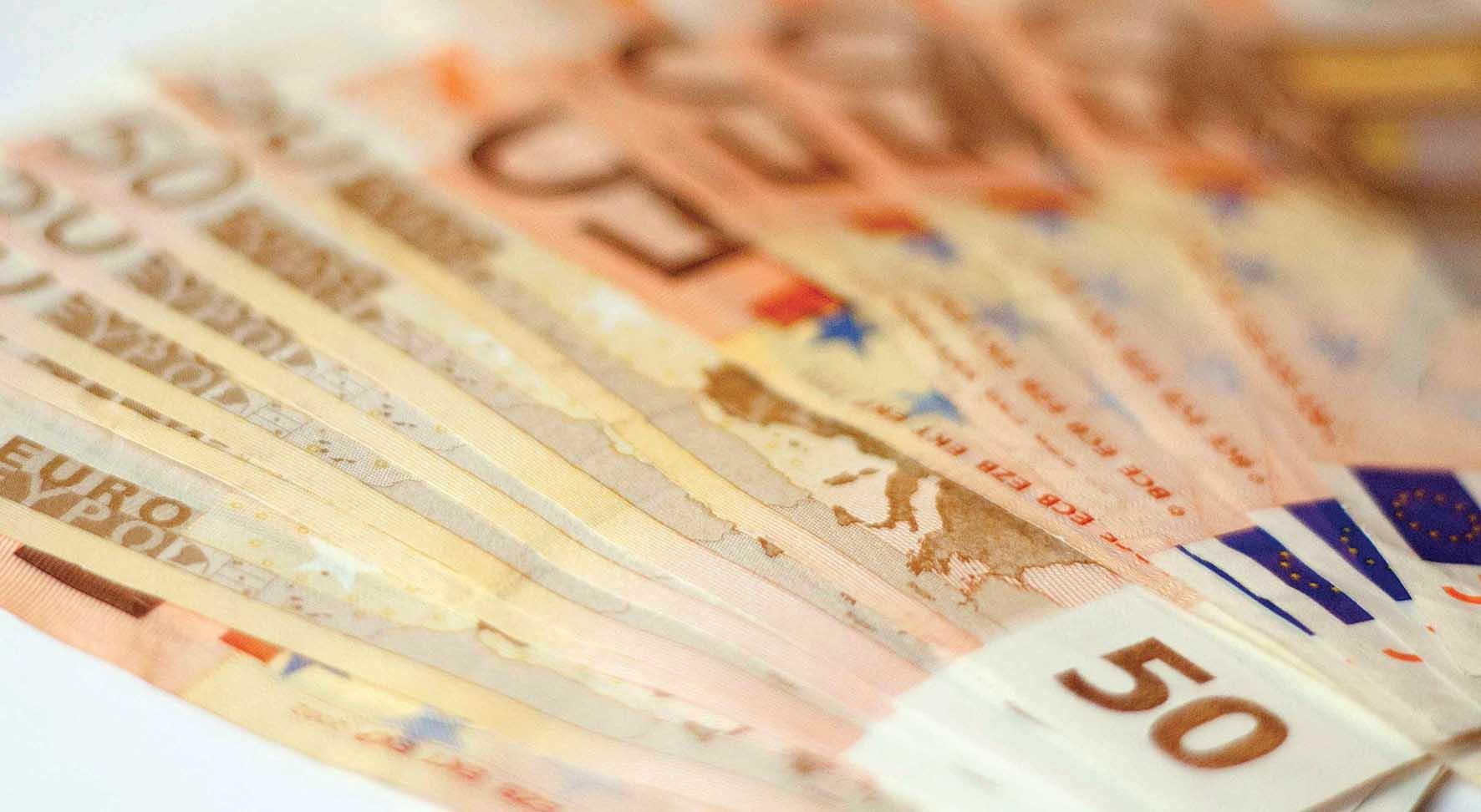 euro soldi biglietti 50
