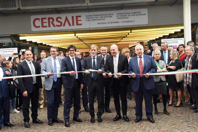 inaugurazione cersaie 2015
