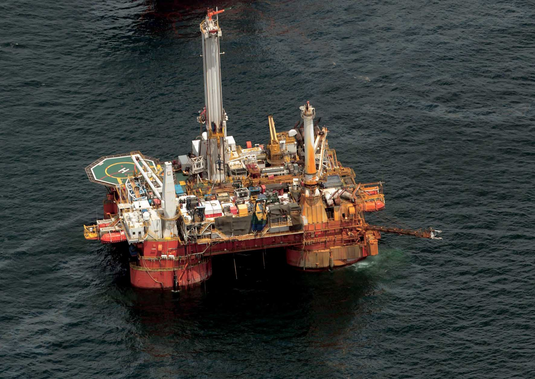 petrolio piattaforma petrolifera
