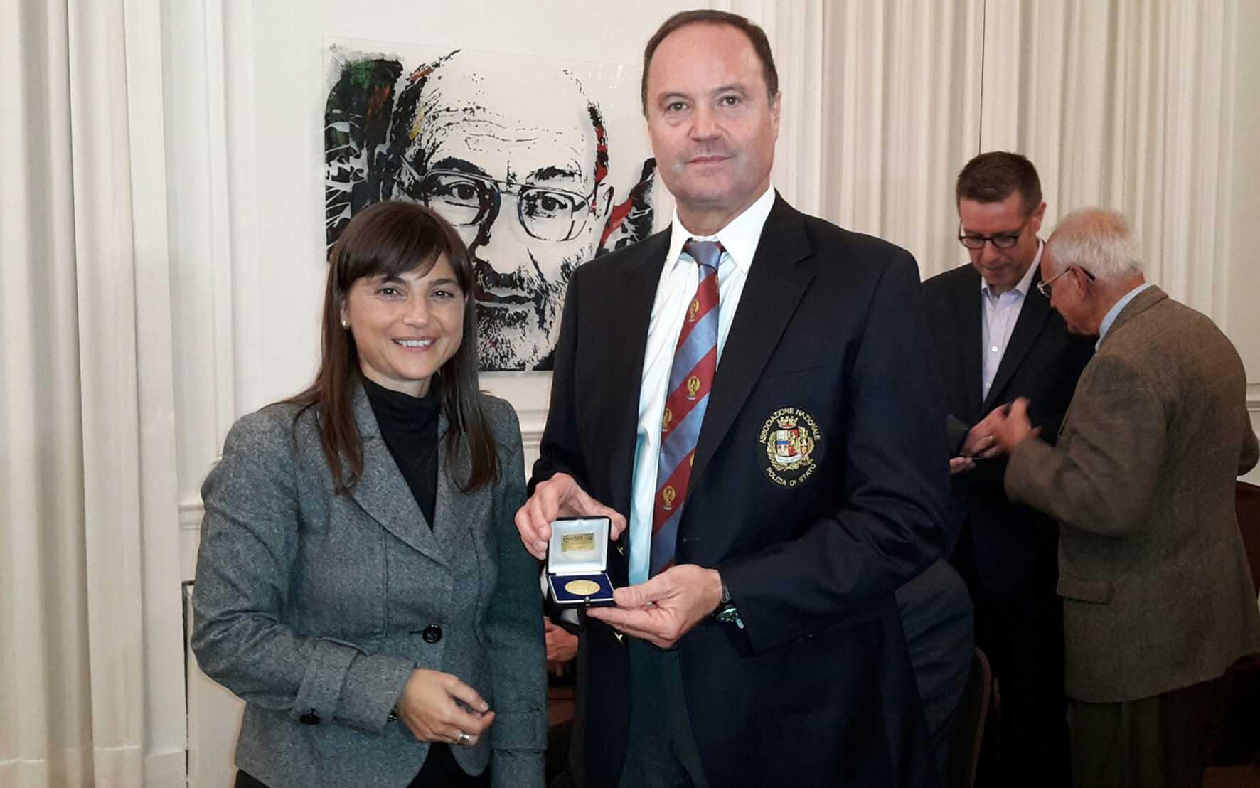 FVG delegazione NY Debora Serracchiani e Giuseppe Clemente Pres Fogolar Furlan NY