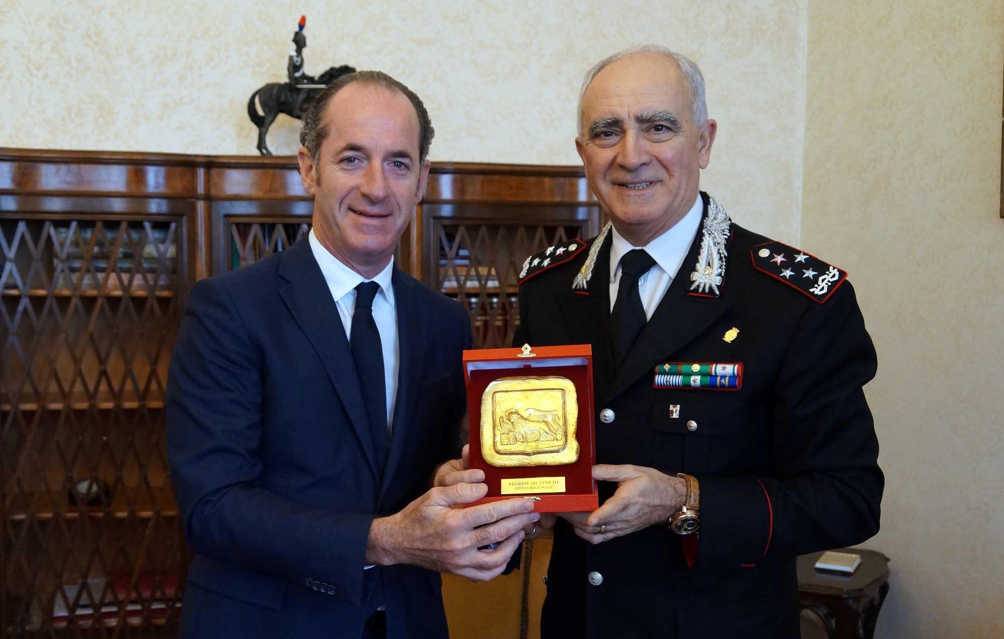 Luca Zaia e gen Tullio Del Sette 2