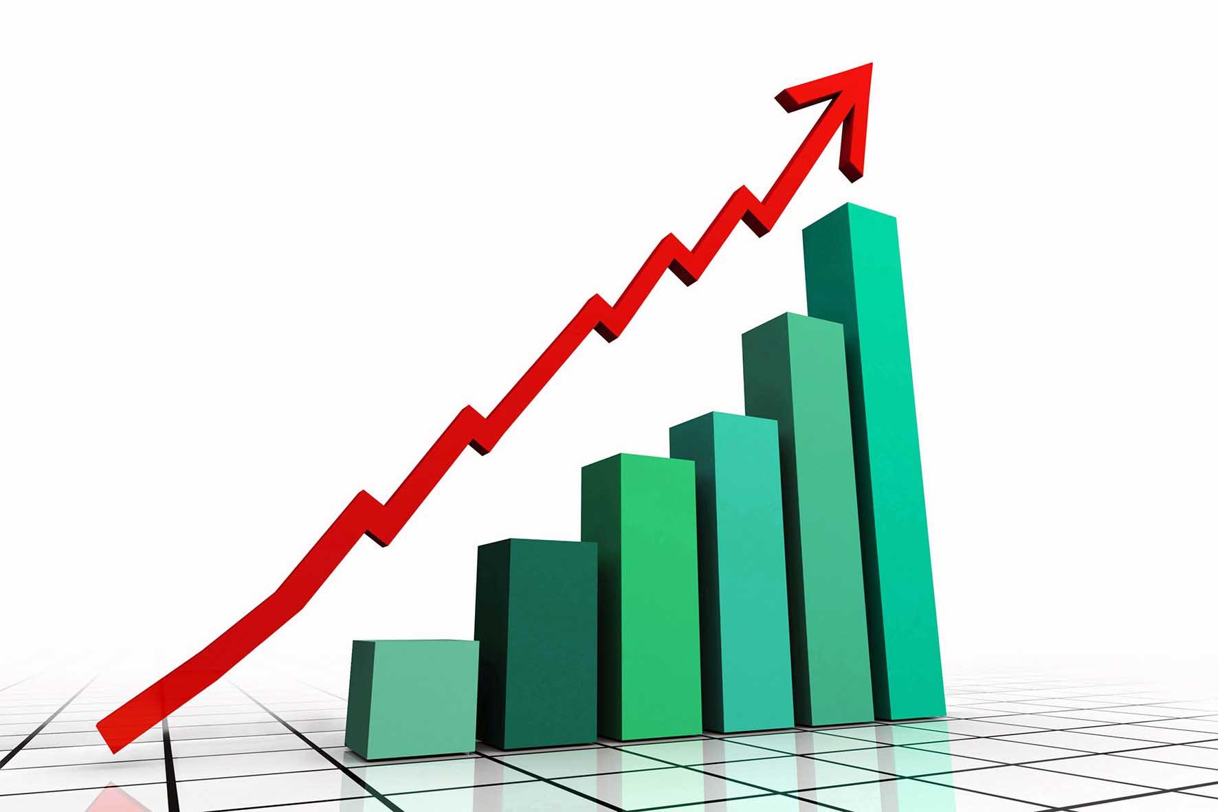 grafico indice crescita