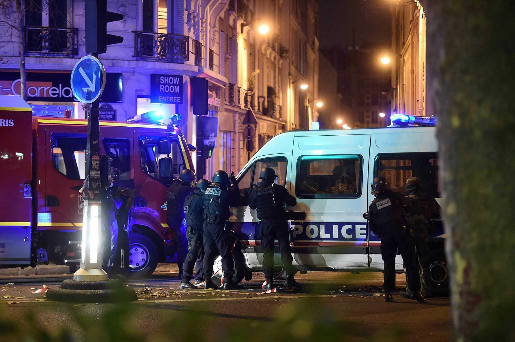 parigi attentato terroristico 14 novembre 2015 A