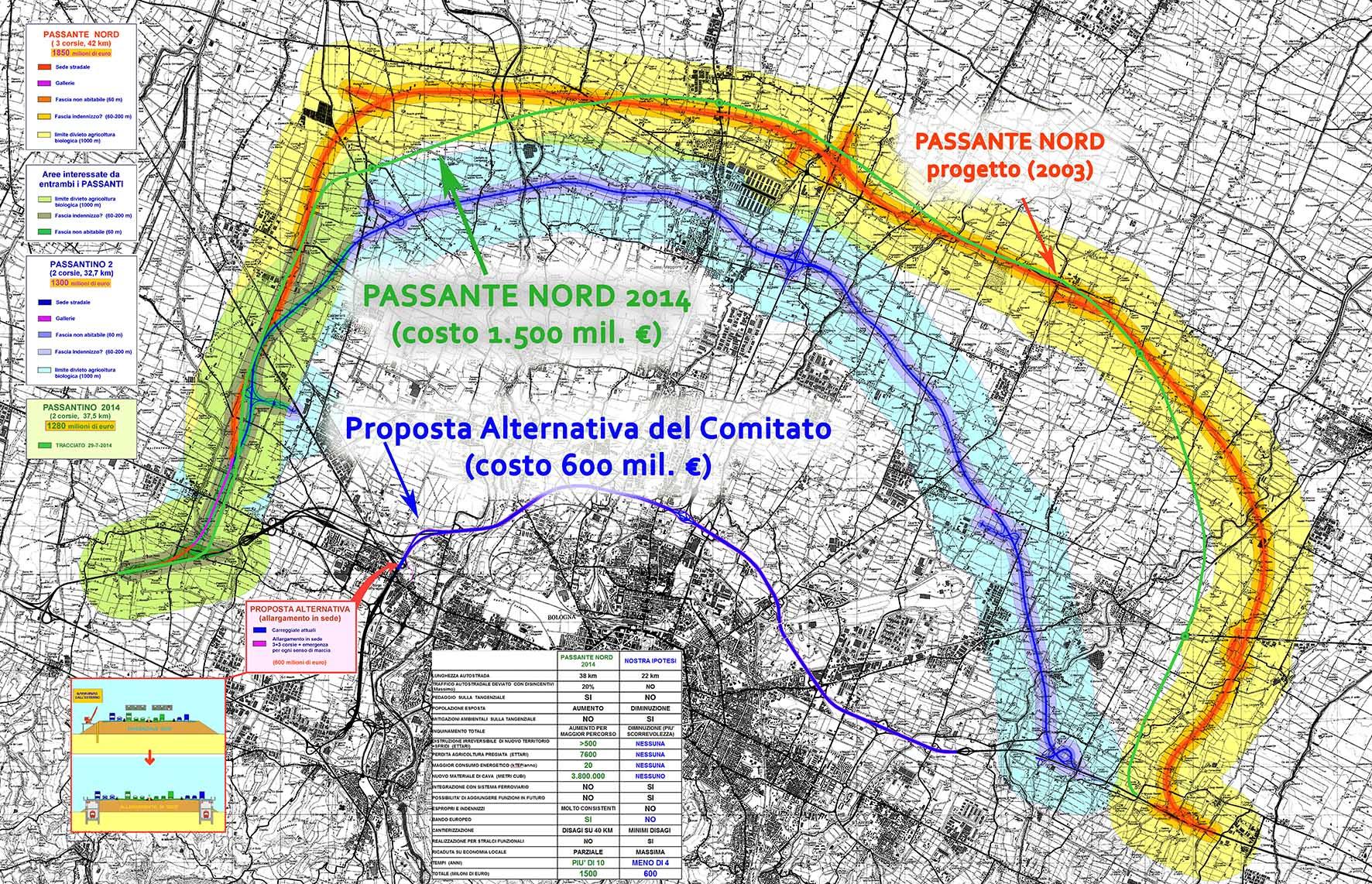 passante nord bologna