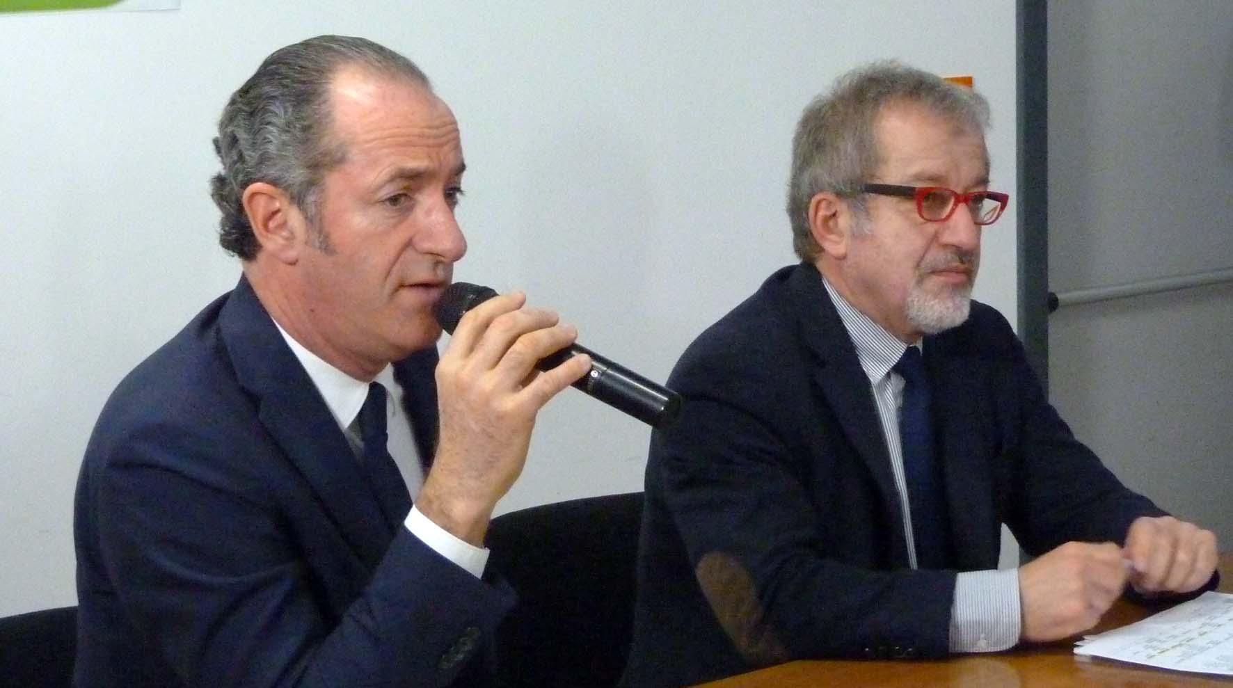 Eusalp Longarone Luca Zaia Roberto Maroni