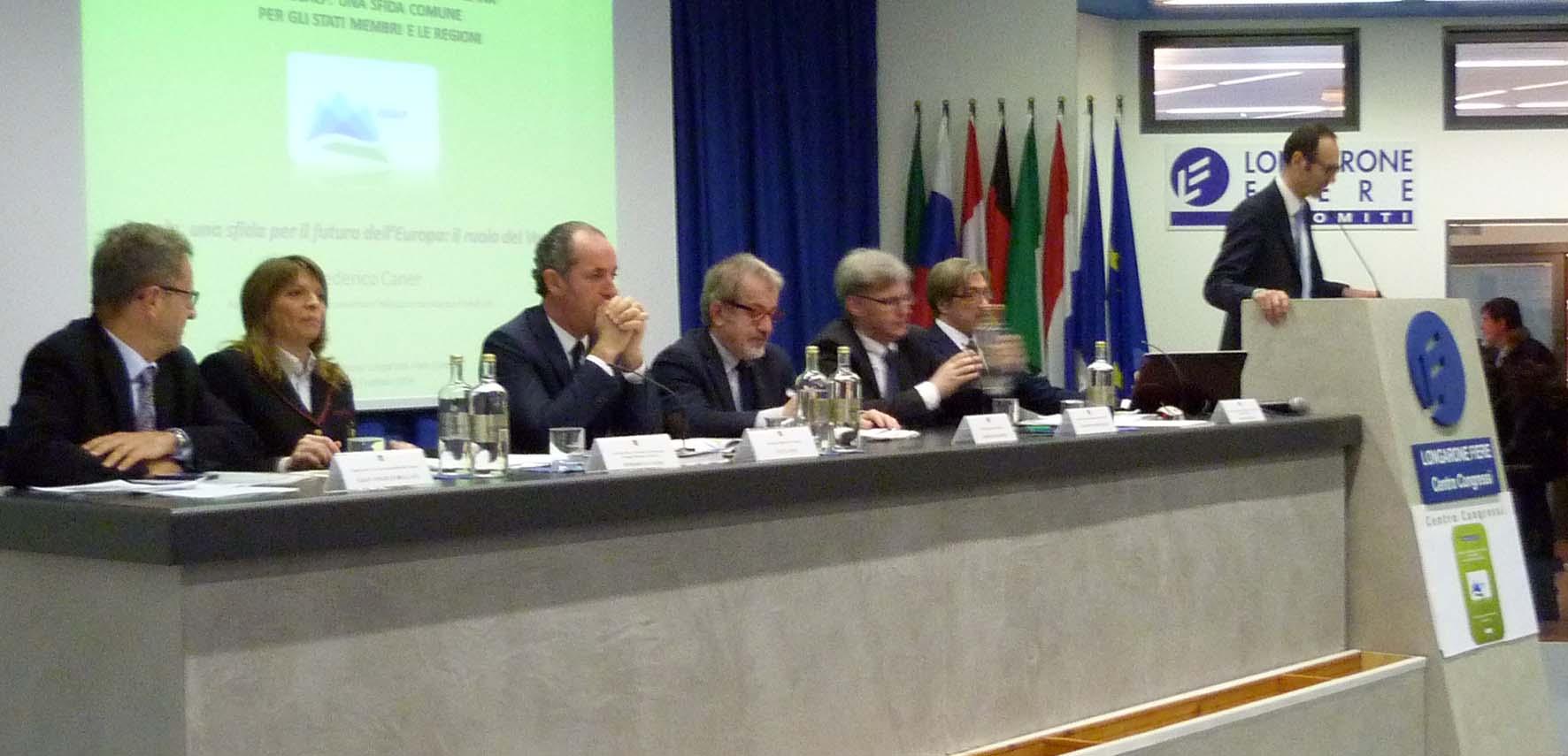 Eusalp Longarone tavolo relatori 1