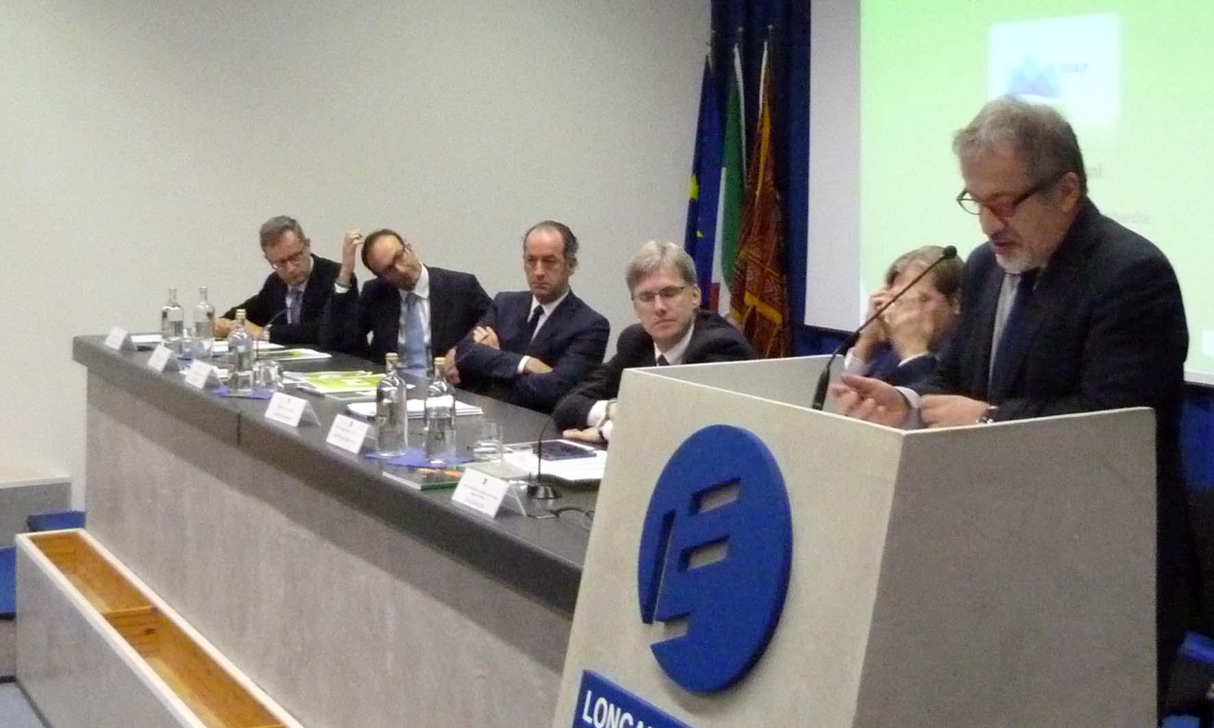 Eusalp Longarone tavolo relatori 2