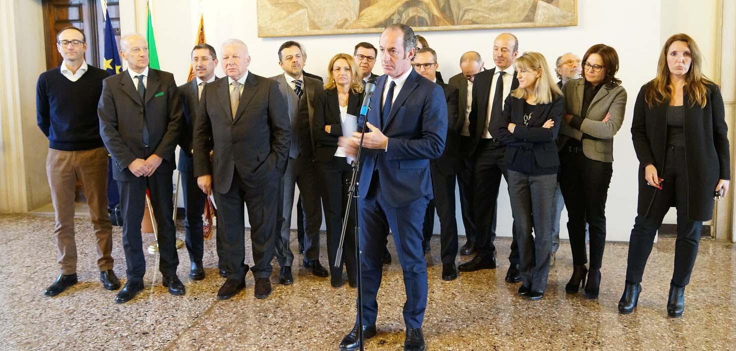Zaia e giunta regionale incontra Cda Veneto Sviluppo 3