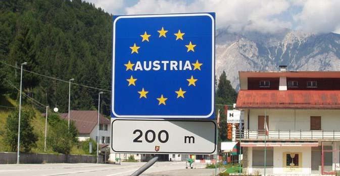 confine italia austria cartello