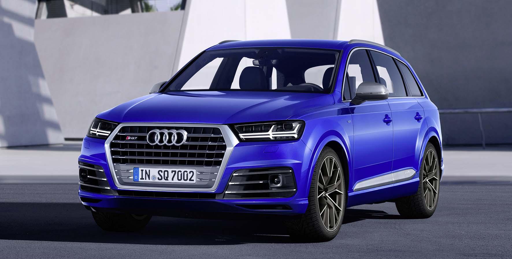 Audi Sq7 TDI V8 frontlat