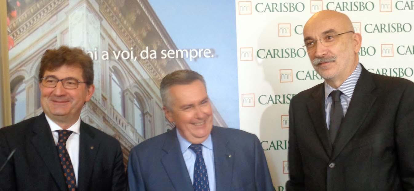 Economia emilia romagna Banca intesa Luca severini presidente COnfindustria Maurizio marchesini presidente Unioncamere Maurizio torreggiani