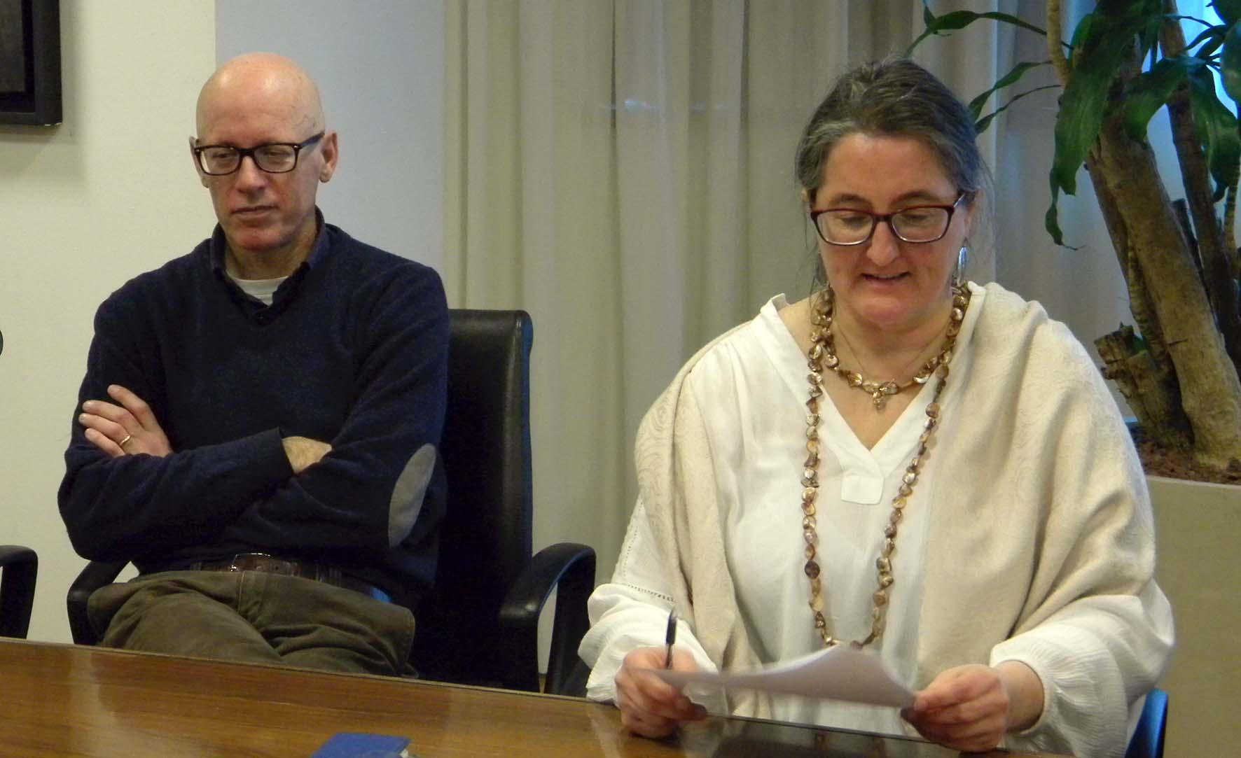 FVG Forum agricoltura solidale Alberto Grizzo e Giuliana Colussi