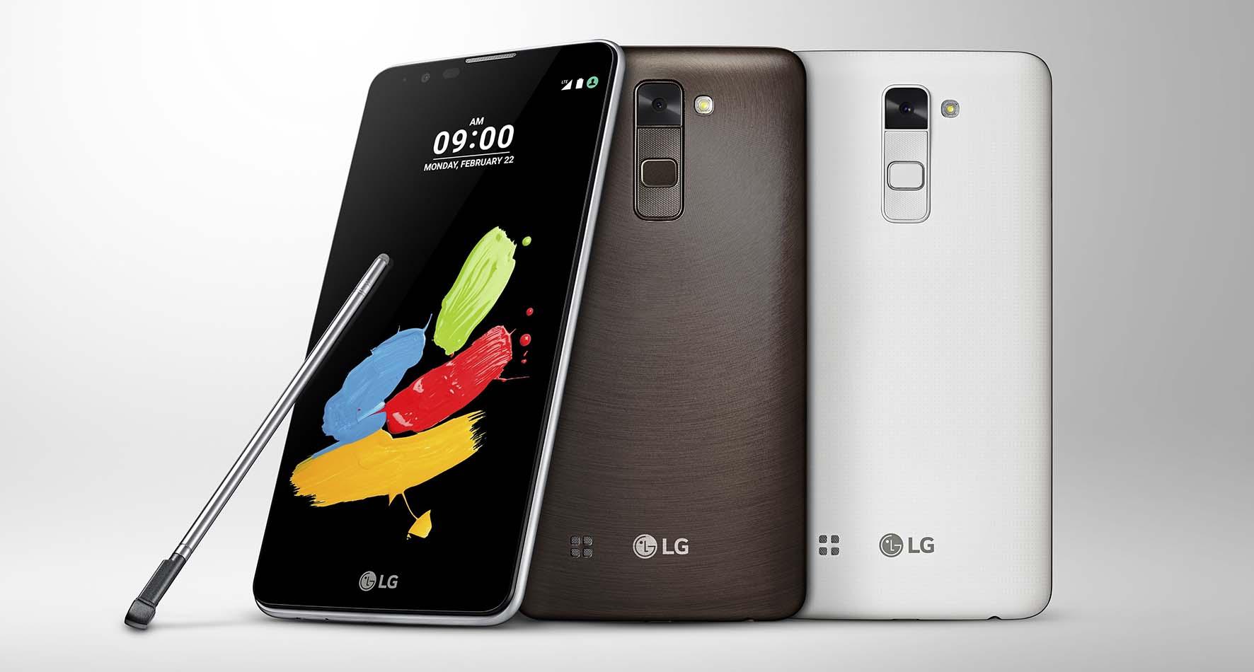 LG 2016 Stylus 2 telefono con sintonizzatore DAB