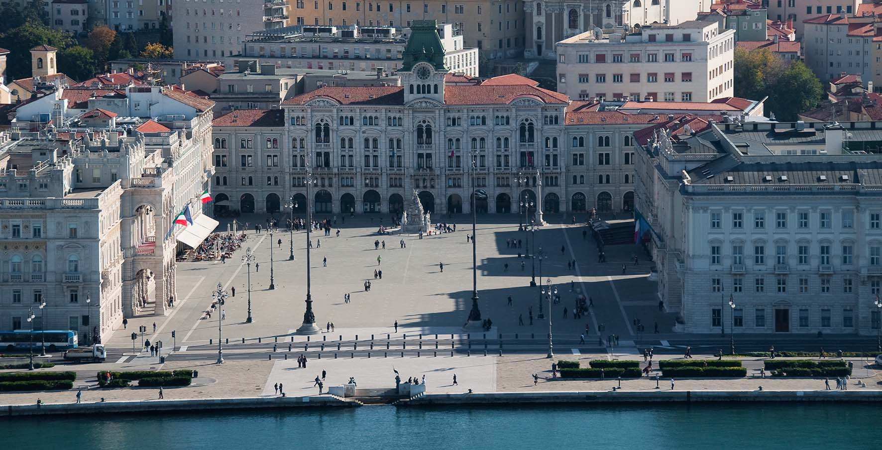 Piazza Unità Trieste Marco Milani