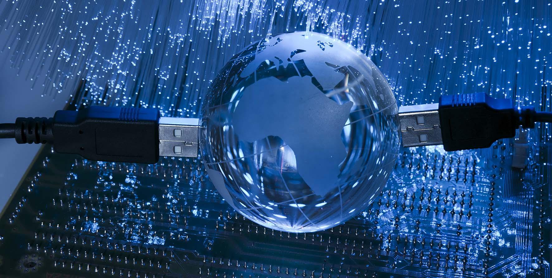banda larga internet terra cavi usb