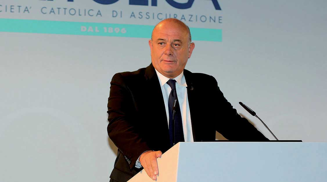Cattolica assicurazioni presidente Paolo Bedoni
