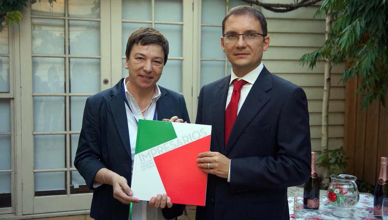 Incontro con il console generale d Italia a Melbourne imagefullwide