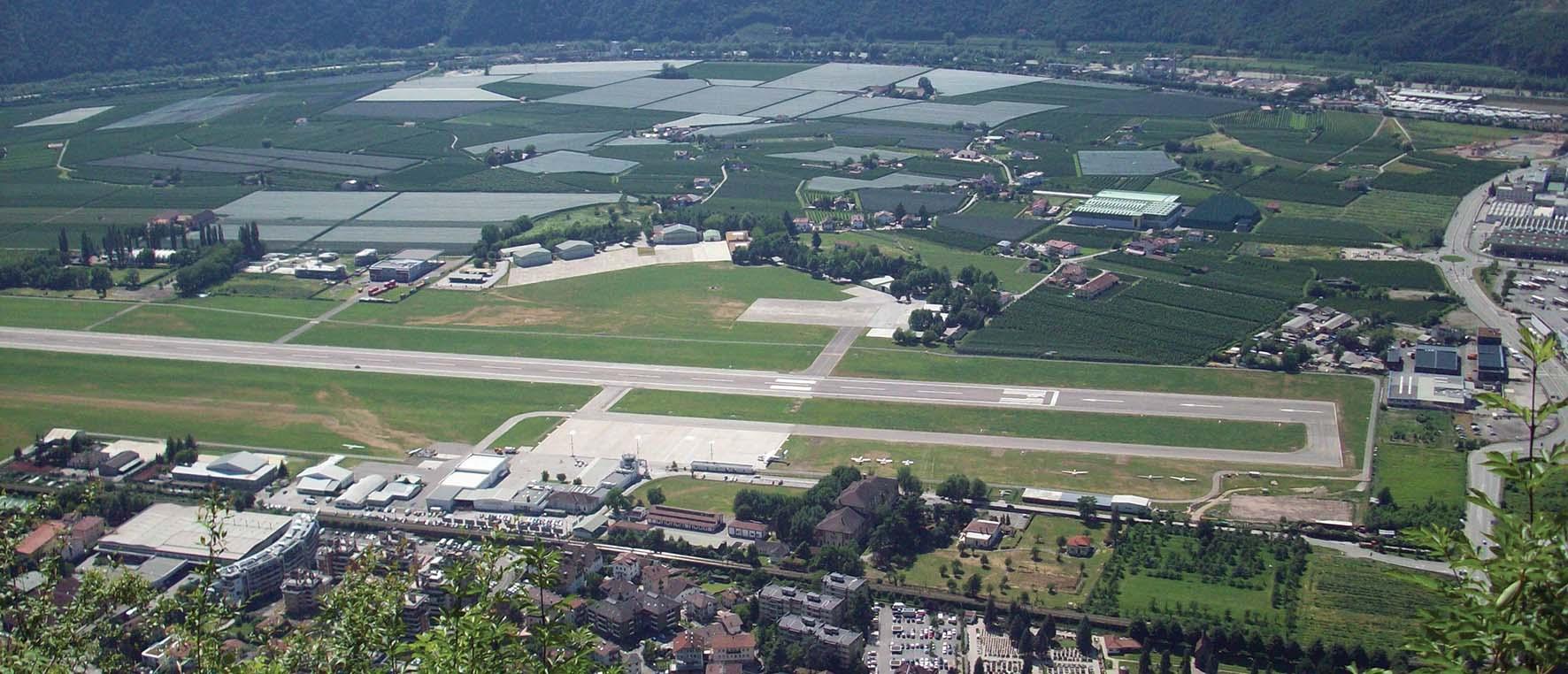 aeroporto bolzano pista 2