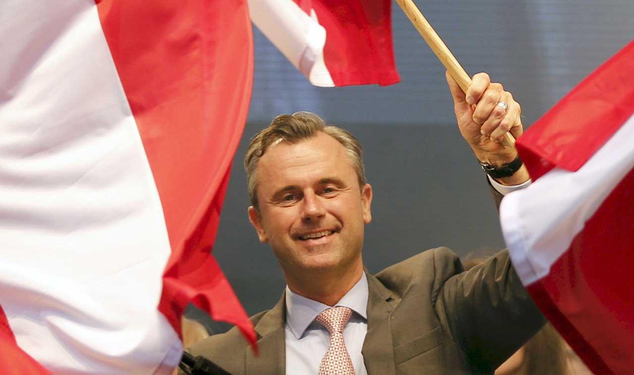 norbert hofer FPO candidato presidente repubblica austria