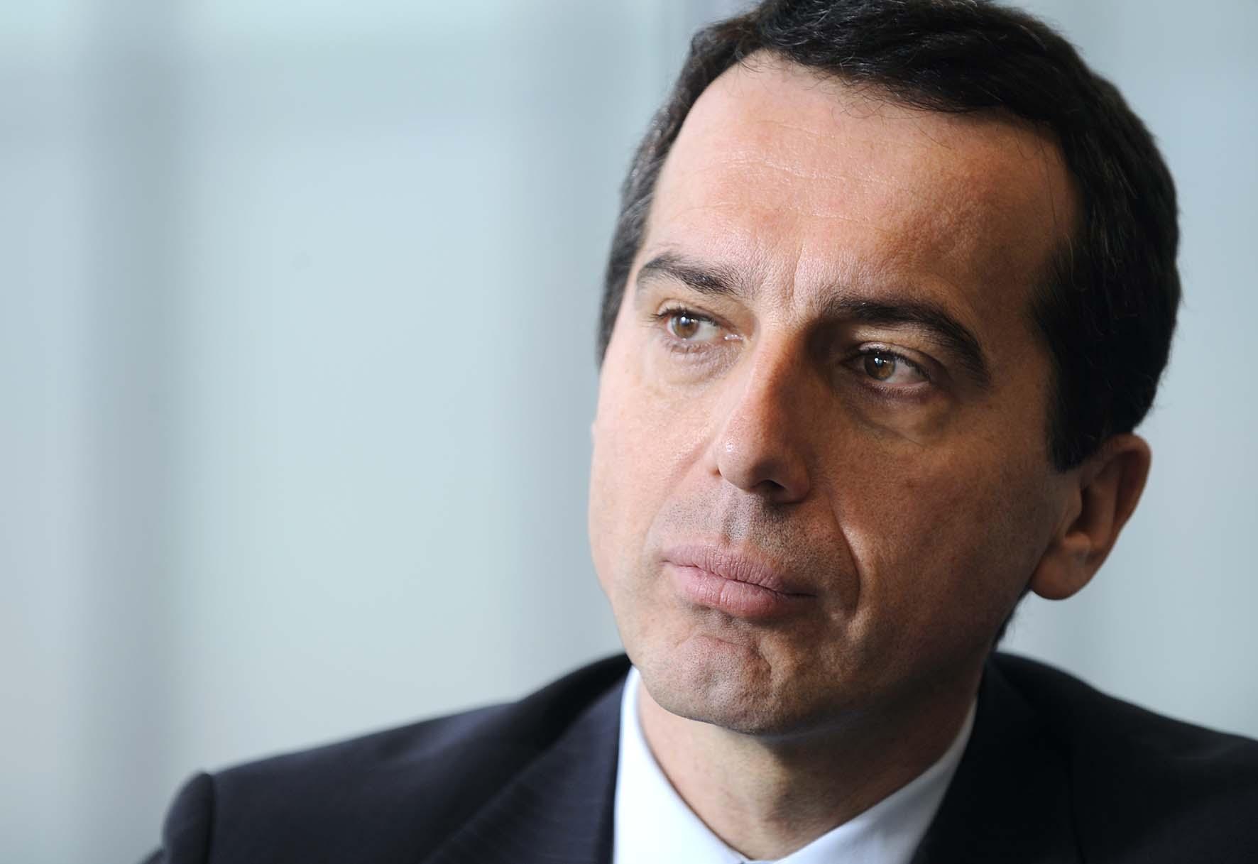 CHRISTIAN KERN nuovo cancelliere austria 1