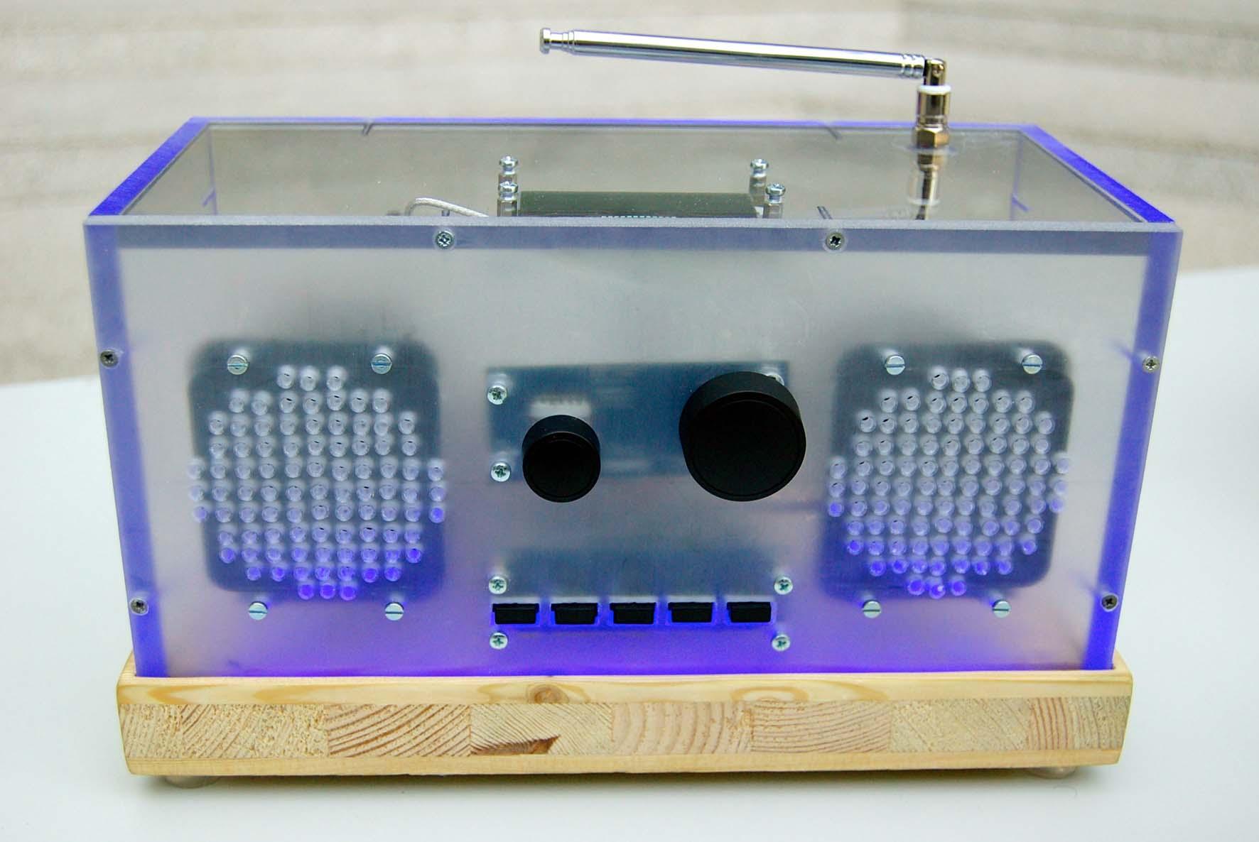 Digitalradio autocstruzione radio dab Istituto Tecnologico Max Valier di Bolzano 1
