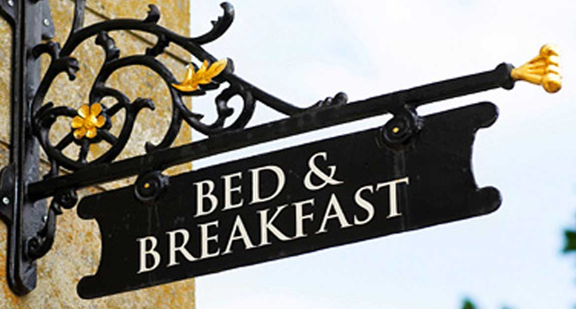 bed and breakfast insegna