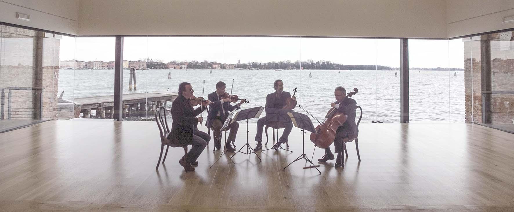 inaugurazioen squero quartetto