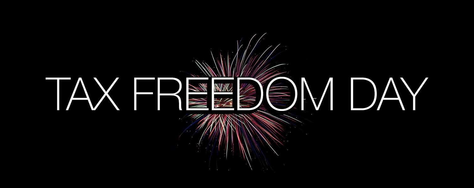 tax freedom day giorno liberazione fiscale fuochi artificio