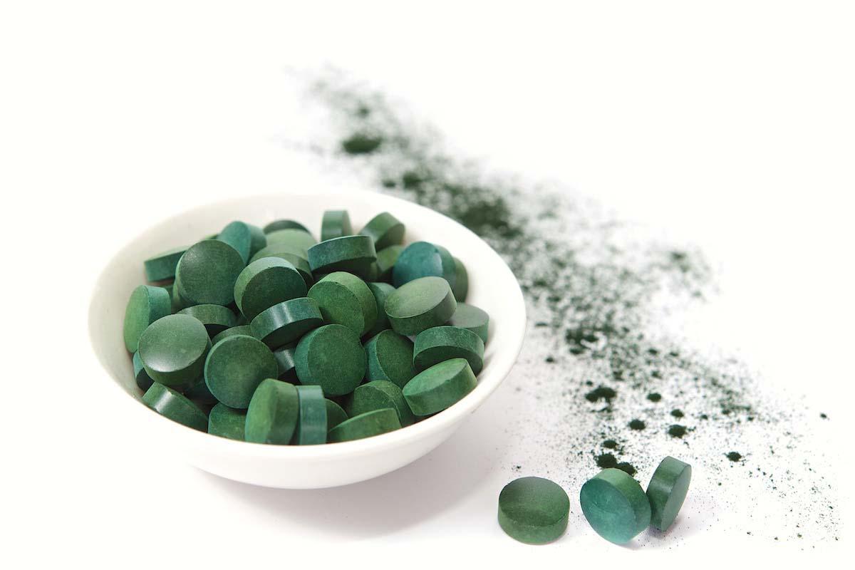Alga spilurina in pastiglie