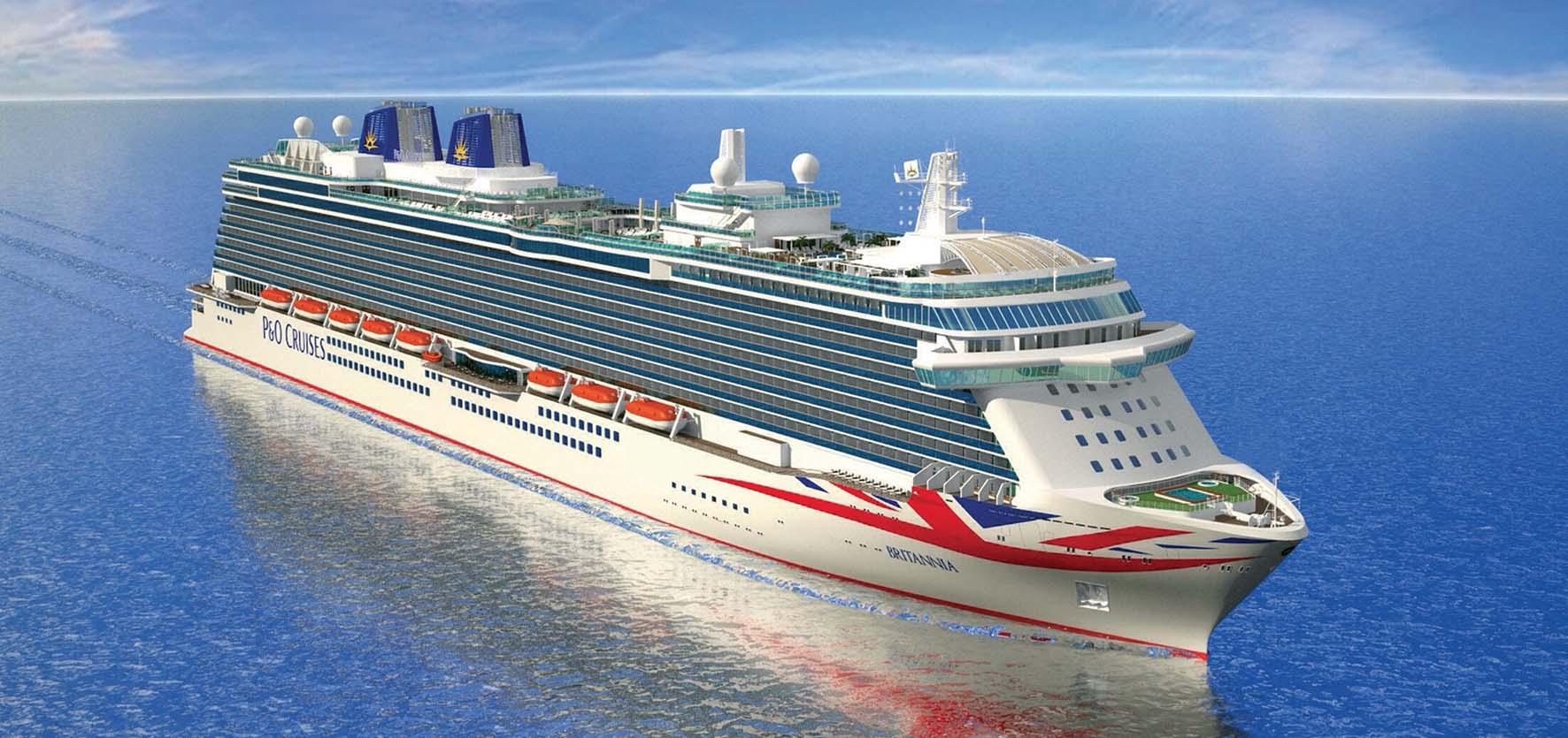 PO nave crociera Britannia cantieri fincantieri monfalcone 1