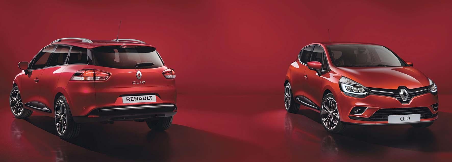 Renault 2016 new Clio front 3p postlat sw