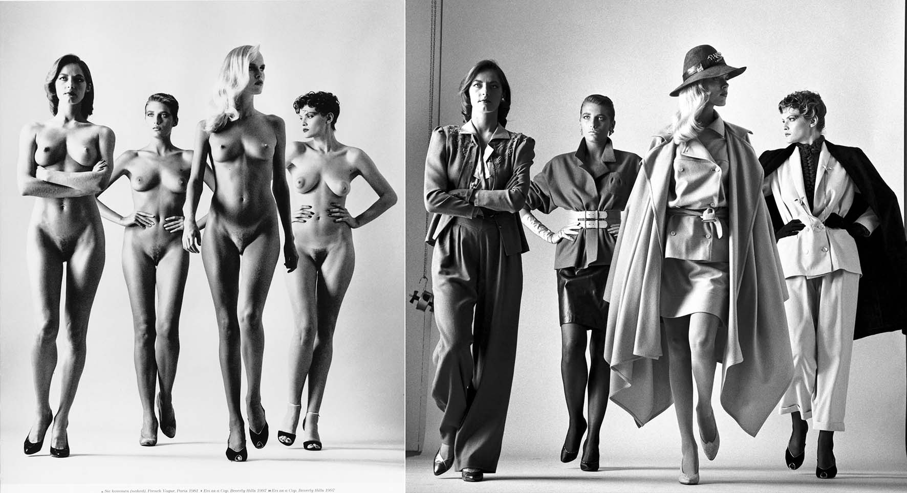 helmut newton siekommenn nude paris 1981
