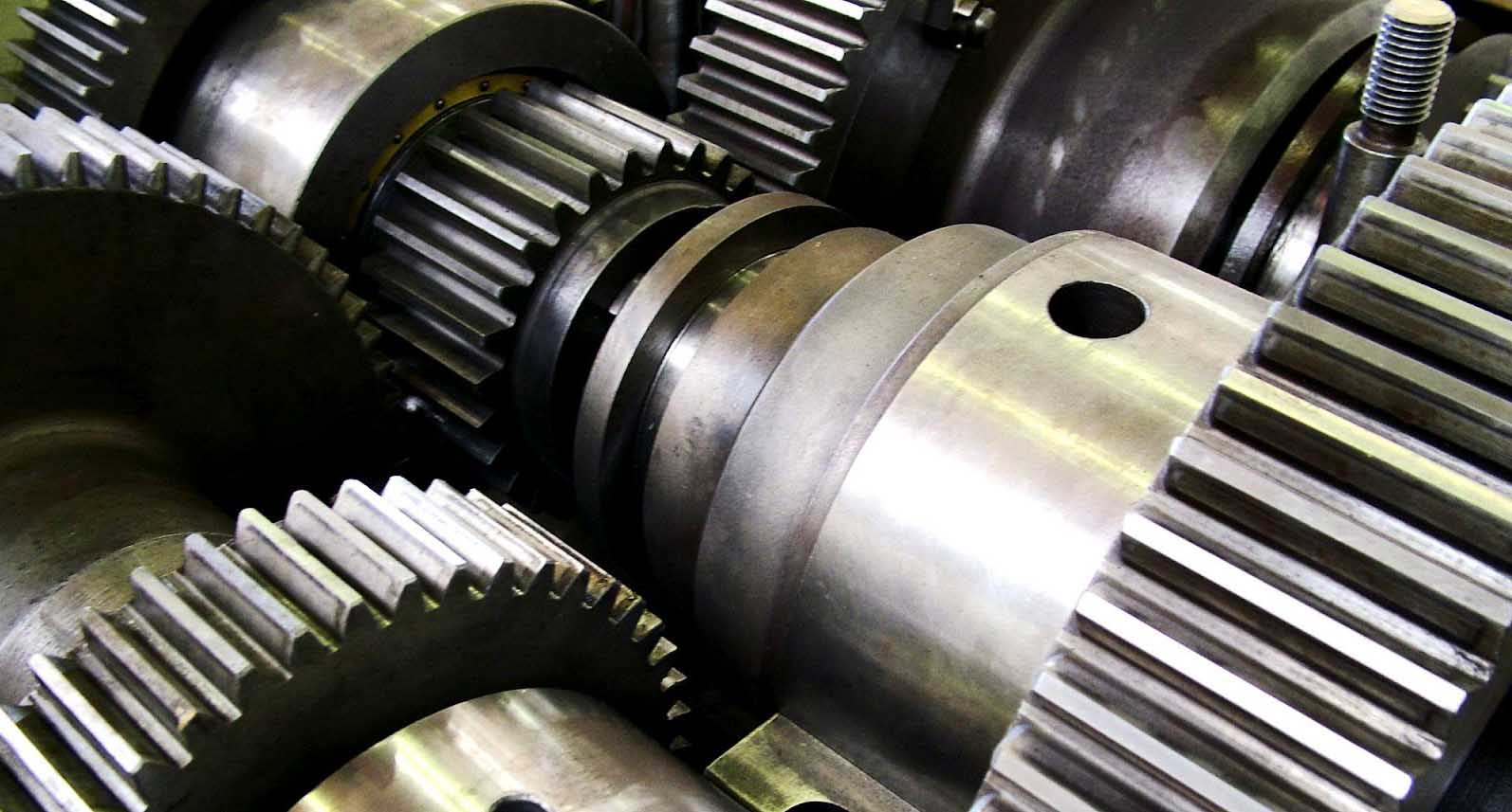 rallentamento della manifattura metalmeccanica ingranaggi