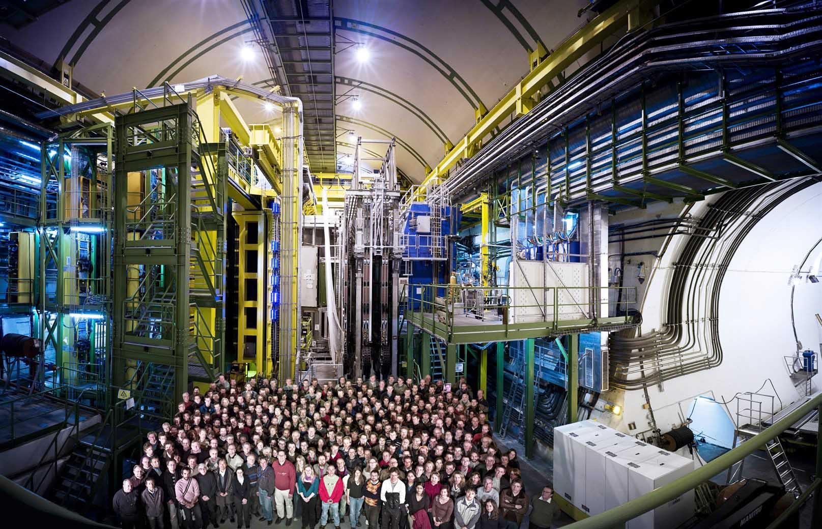 apparato LHCb Cern Ginevra